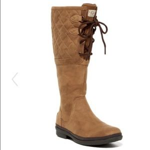 UGG Australia quilted waterproof knee high boots